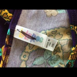 LuLaRoe Tops - NWT Lularoe Purple Classic T 2XL